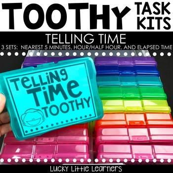 Toothy™ Task Kits - Telling Time