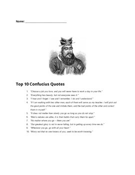 Top 10 Confucius Quotes