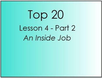 Top 20 Lesson 4 Part 2 (Primary Version)
