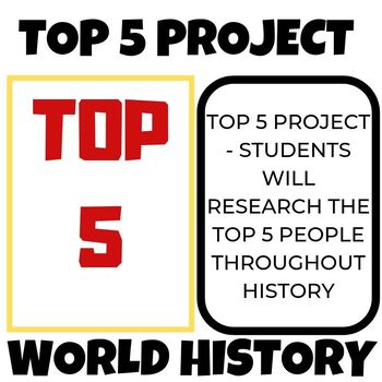 Top 5 Biographical Figures Project