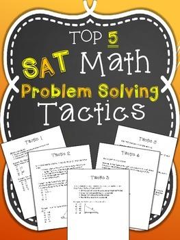 Top 5 SAT Math Problem Solving Tactics