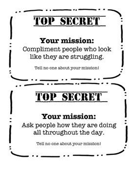 Top Secret Community Building