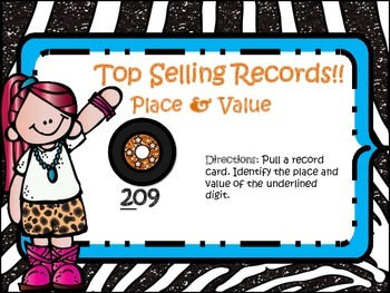 Top Selling Albums!! Identify Place & Value