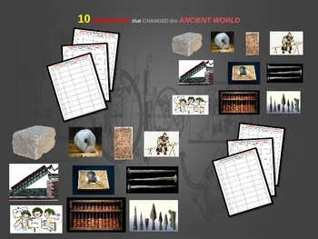 Top Ten Inventions from Ancient History: Engaging PPT with