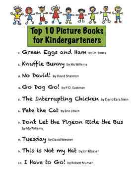 Top Ten Picture Books for Kindergarteners