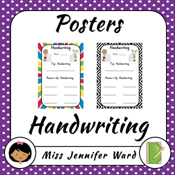 Handwriting Poster