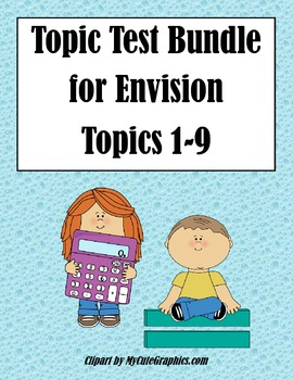 Envision Topic 1-12 Tests