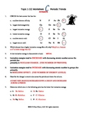Worksheets Periodic Table Trends Worksheet Answers periodic table trends worksheet ukrobstep com sound letter along with trends