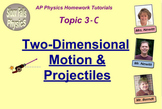 Topic 3-C Physics Homework Tutorial Vodcasts