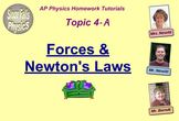 Topic 4-A Physics Homework Tutorial Vodcasts
