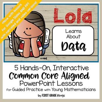 Collecting & Interpreting Data Common Core Math Lesson BUN