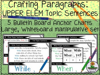 Topic Sentences for UPPER Elementary