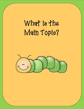 Topic Sentences : What is the Main Topic?