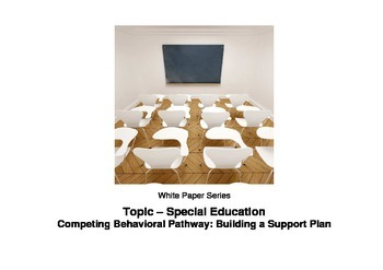 Competing Behavioral Pathway: Building a Support Plan