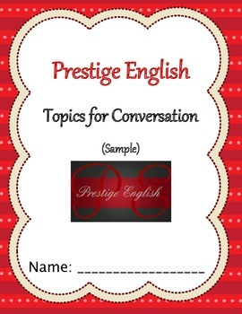 Topics of Conversation SAMPLE - Free