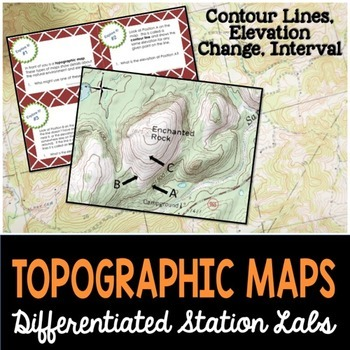 Topographic Maps Student-Led Station Lab
