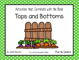 Tops and Bottoms  42 pgs of Common Core Activities