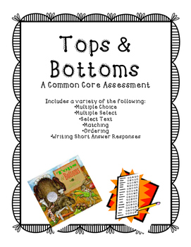 Tops and Bottoms Assessment