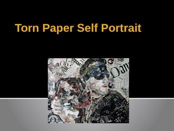 Torn Paper Portraits