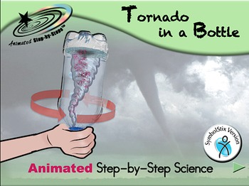 Tornado in a Bottle - Animated Step-by-Step Science Projec