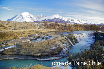 Torres del Paine, Chile Poster: Digital Download