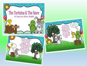 Tortoise & Hare BUNDLE - PPT Edition (Tempo Activity, Stor