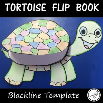 Tortoise Template  -  lift-the-flap booklet