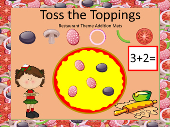 Toss the Toppings - Restaurant Theme Addition Mats (Tools