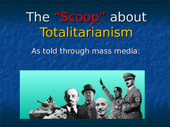 Totalitarianism Rise of Dictators SCOOP