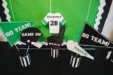 Classroom Decor Totally TEAMwork Sports Football Jersey Cut-Outs