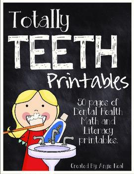 Totally Teeth Printables- A Dental Health Unit for K-2