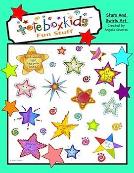 Tote Box Kids™ Stars N Swirls Collection