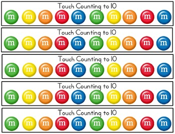 Touch Counting to 10