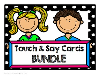 Touch and Say Cards (BUNDLE)