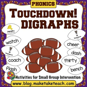 Digraphs - Touchdown!