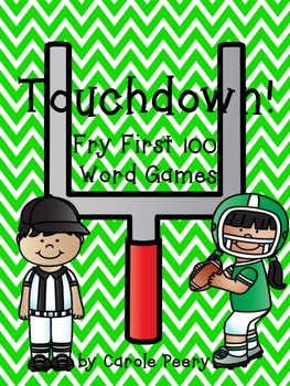 Touchdown! Fry First 100 Word Games