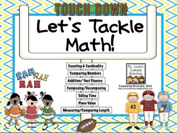 Touchdown Time! Let's Tackle Math!