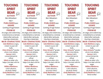 Touching Spirit Bear edition of Bookmarks Plus—A Very Hand
