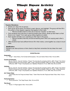 Touching Spirit Bear Tlingit Culture Jigsaw