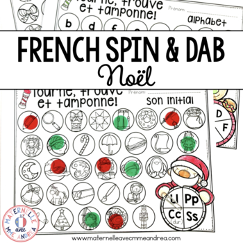 Tourne, trouve et tamponne! Noël (FRENCH Christmas Dab It