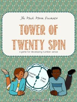 Tower of Twenty Spin - a number sense game