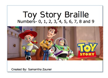 Toy Story Braille