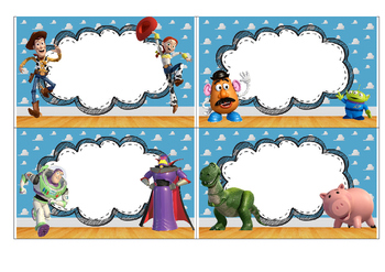 Toy Story Labels