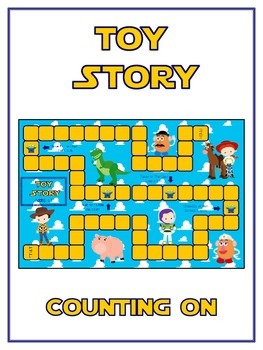 Toy Story Math Folder Game - Common Core - Counting On Fro