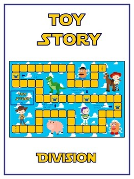 Toy Story Math Folder Game - Common Core - Division - Divi