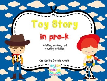 Toy Story in Pre-k games and centers