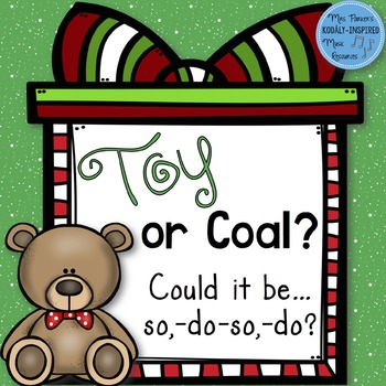 Toy or Coal? {Low So Interactive Game}