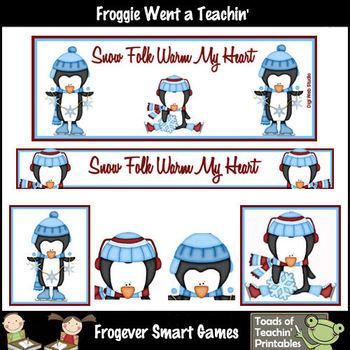 TpT Banners-Facebook Cover Bundle--Snow Folk Warm My Heart