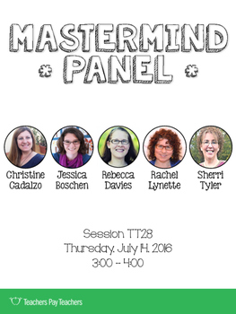 TpT Conference 2016: Mastermind Panel