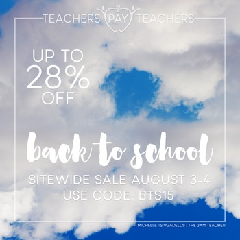 TpT Love Back to School Promotional Banner